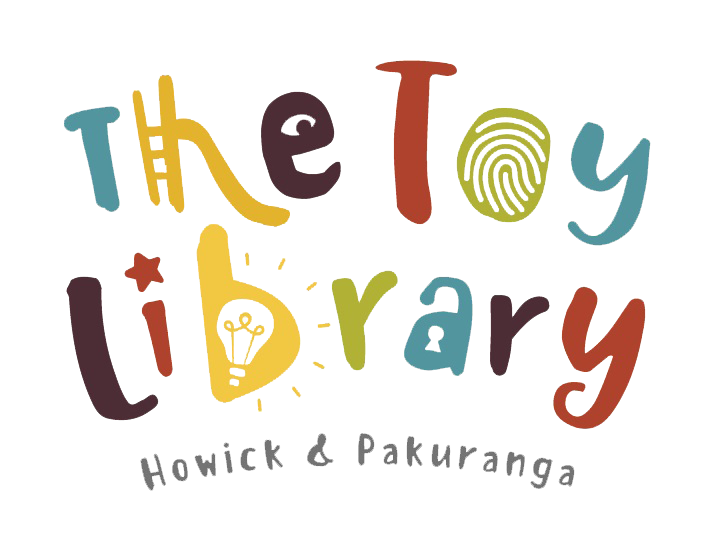 New Toy Library logo clearcut